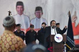 Dihadapan ulama Aceh, Surya Paloh tepis Jokowi anti-Islam