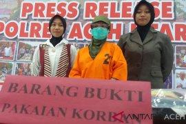 Polisi Aceh Utara tangkap perempuan muda cabuli 5 bocah