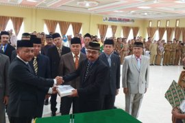 Kadisos Gorontalo Utara Resmi Jabat Sekda Buol