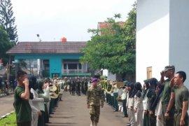 Mahasiswa Polbangtan Bogor ikuti Diklatsarmil bentuk karakter