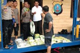Polisi amankan 50 kg sabu dan ribuan pil ekstasi di perairan Labuhanbatu