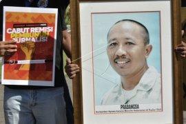 Jurnalis Bali sikapi remisi terpidana pembunuh wartawan