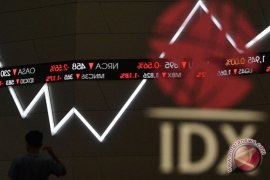 IHSG ditutup menguat tipis 10,05 poin