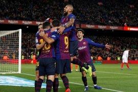 Barcelona melaju ke semifinal Copa del Rey setelah hancurkan Sevilla 6-1