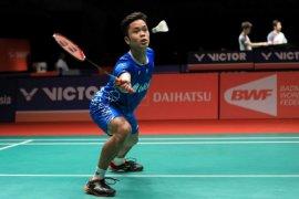 Ginting urung ke babak dua Malaysia Masters