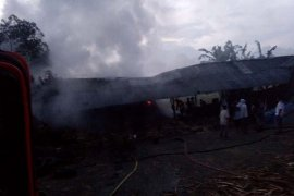 Pabrik gula merah terbakar di Aceh Tengah