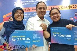 "ANTARA raih dua penghargaan ""Anugerah Jurnalis dan Media"" Kemristekdikti"