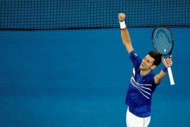 Djokovic ke final Australia Terbuka setelah tundukkan Pouille