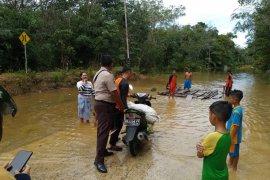 Empat kecamatan di Kabupaten Kapuas Hulu banjir