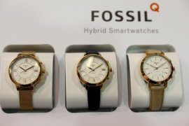Fossil akan jual teknologi smartwatch ke Google