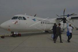 Penumpang Garuda Lampung-Bandung diturunkan dari pesawat