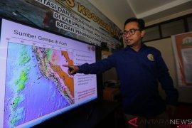 Gempa magnitudo 4,9 guncang  Aceh