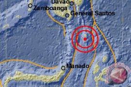 Gempa magnitudo 4,8 guncang Kabupaten Kepulauan  Talaud