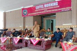 Bengkulu Selatan gelar coffee morning cari solusi permasalahan daerah