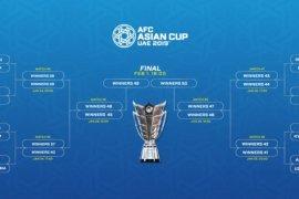 Babak 16 besar Piala Asia pertemukan dua tim Piala Dunia