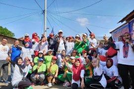 Nusantara Untuk Jokowi gelar senam bersama di Deliserdang