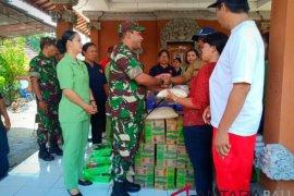 Kodim Jembrana bantu sembako korban banjir bandang