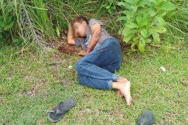 Pria dengan luka di leher gegerkan warga Pulau Baai