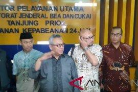KPU datangi Pelabuhan Tanjung Priok, cek kabar tujuh kontainer surat suara sudah dicoblos
