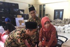 KPU Jabar mengecek kesiapan logistik di Bekasi