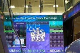 Indeks FTSE-100 Inggris bertambah 0,95 persen