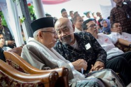KH Ma'ruf Amin Hadiri Kopi Darat Muda-mudi Indonesia Bahas Hoaks