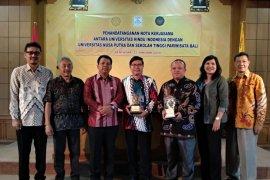 Unhi kolaborasi pendidikan dengan STP dan Universitas Nusa Putra