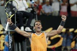 Rafael Nadal hentikan asa Tsitsipas di semifinal Australia Terbuka