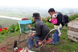 Puluhan perupa kenalkan objek wisata Bengkulu