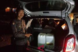 Polisi Tempilang tangkap agen minuman berakohol