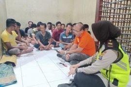 Polsek Medan Timur yasinan dan doa bersama tahanan
