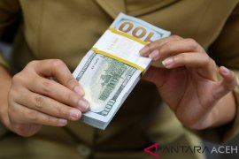 Dolar AS menguat terhadap sekeranjang mata uang  di tengah meningkatnya selera risiko