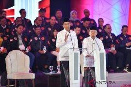 Jangan pertentangkan HAM dan  penegakkan hukum, kata Jokowi