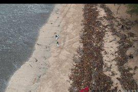 Sempat ditutup, aktivitas pantai Kuta mulai normal