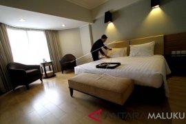 Tingkat hunian hotel berbintang di Maluku turun