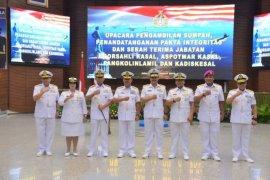 Pejabat teras TNI AL diserahterimakan