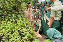 Mahasiswa Polbangtan Bogor belajar 'urban farming'