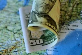 Dolar Amerika melemah di tengah data ekonomi suram