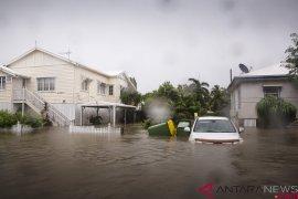 Badai petir picu hujan sebabkan banjir di Australia