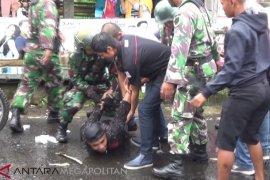 TNI-Polri gelar simulasi pengamanan gangguan Pemilu