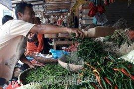 Harga cabai dan bawang di Sukabumi kembali turun