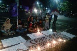 AJI Jambi lanjutkan aksi tuntut cabut remisi otak pembunuh jurnalis