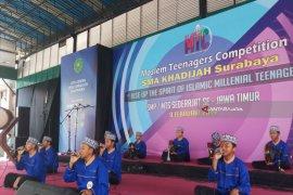 """Ratusan Siswa SMP/MTs di Jatim Ikuti """"Muslim Teenager Competition"""""""