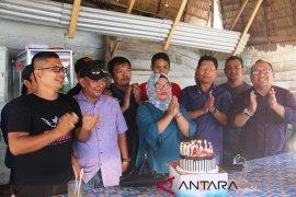 Direktur RSU Sibolga dan wartawan rayakan hari pers nasional