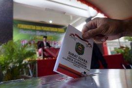 Partisipasi Pemilih di Pilkades Serentak Trenggalek Capai 90 Persen