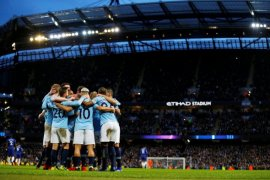 Manchester City permalukan Chelsea enam gol tanpa balas