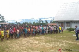 Pemerintah Jayawijaya Izinkan Pengungsi Nduga Bangun sekolah