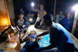 Polisi Bangka Tengah identifikasi penemuan mayat di kebun