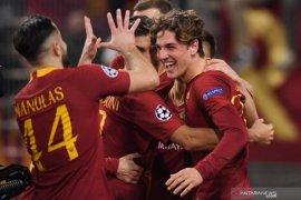 Dua gol Zaniolo bawa kemenangan bagi Roma atas Porto