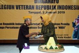 Veteran Kediri Janji Ikut Jaga Persatuan Sukseskan Pemilu
